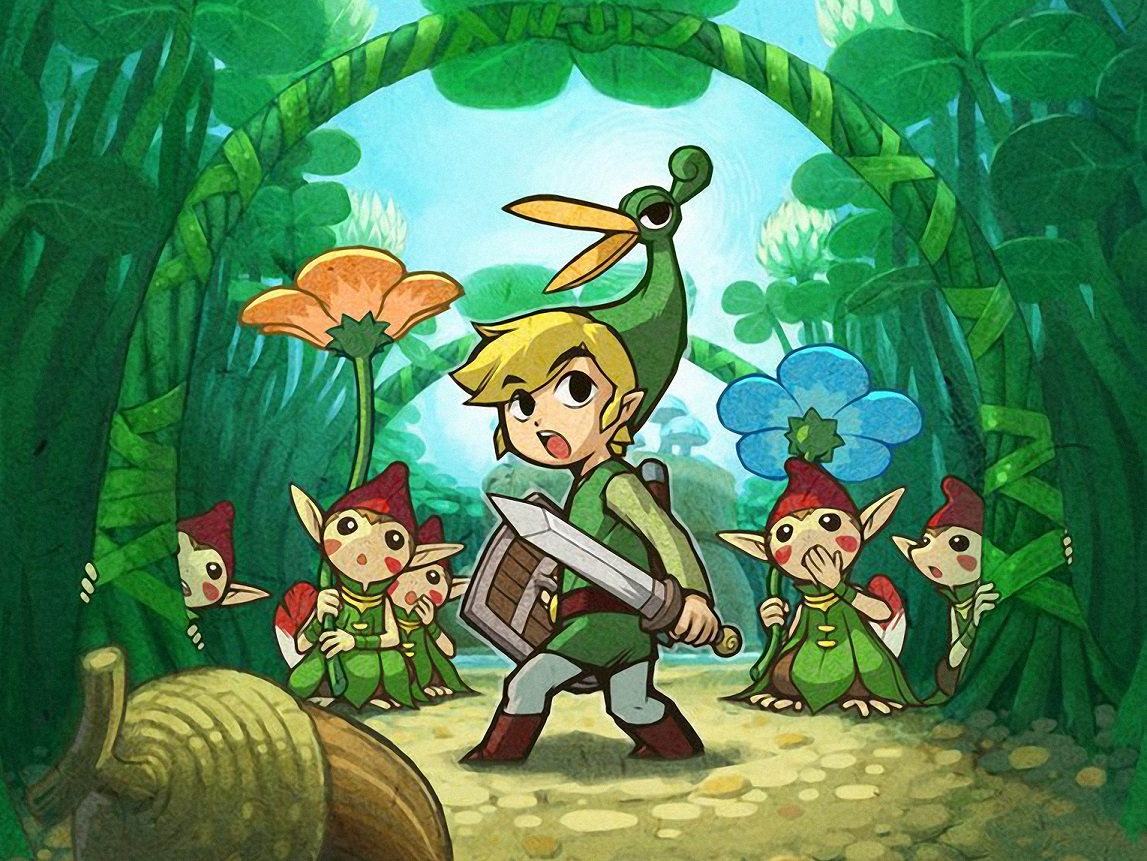 The Legend of Zelda: The Minish Cap – Neuer Trailer!