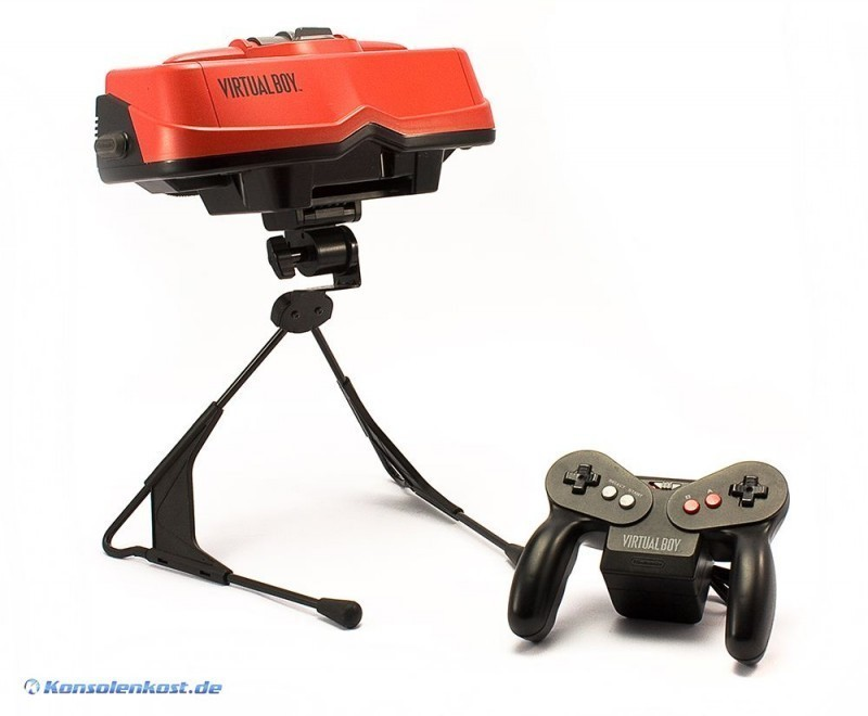 Virtual Boy – Der Oculus Rift der 90er!