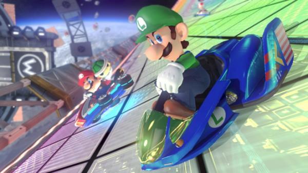 Mario Kart 8 Luigi F Zero Kart