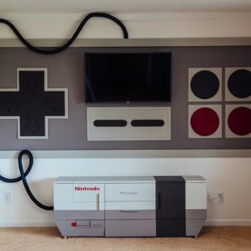 NES in gigantisch fürs Heimkino? Geht!