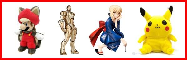Gaming Merchandise Figuren