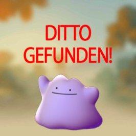 Pokémon Go – Ditto wurde auch gefunden!