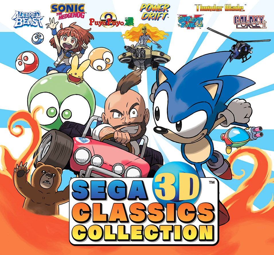 SEGA 3D Classics Collection für den 3DS!