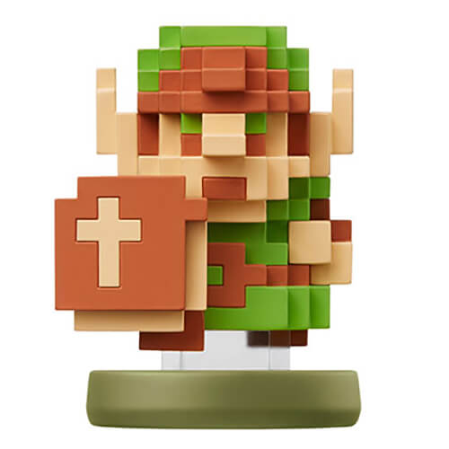 Breath of the Wild Amiibo 8 Bit Link