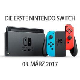 Fan bekommt die erste Nintendo Switch!