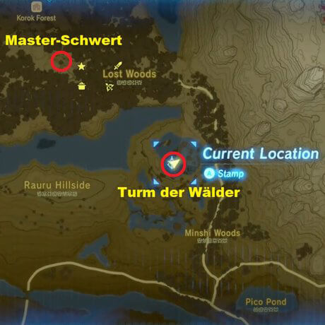 Zelda: Breath of the Wild Master-Schwert