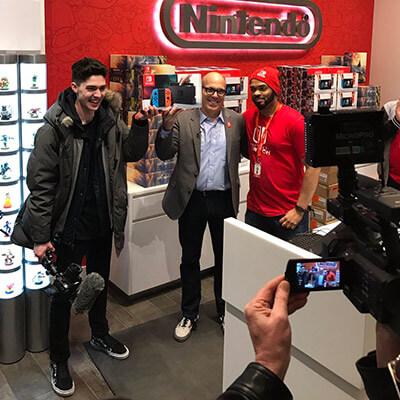 Erste Nintendo Switch