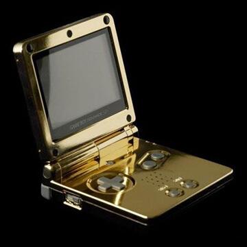 Der 24 Karat Gold GameBoy Advance SP