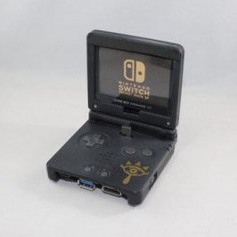 GameBoy Advance SP als Switch Docking-Station!