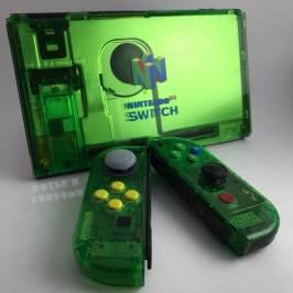 Nintendo Switch: Casemod im N64 Design