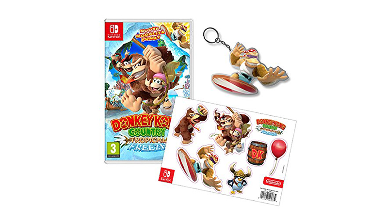 Donkey Kong Country Tropical Freeze Special Edition