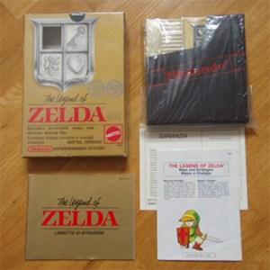 NES Zelda Verpackung