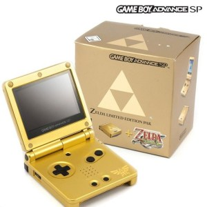 GBA SP Zelda Limited Edition