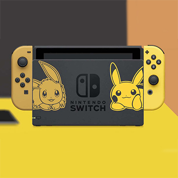 Nintendo Switch Pikachu & Evoli Edition