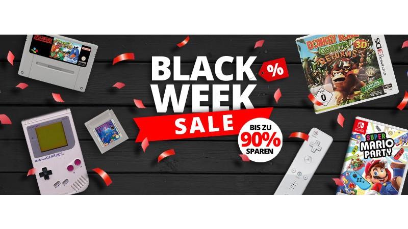 Black Week Retro Games