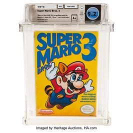 Das teuerste Videospiel: Mario Bros. 3 für 156.000$ verkauft!