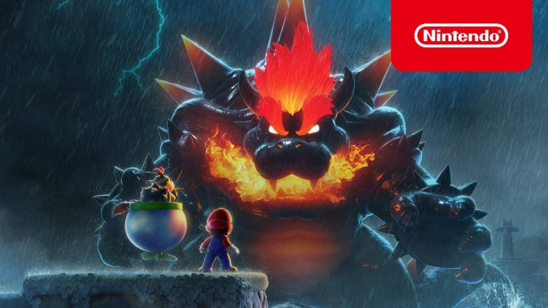 Mario 3D World Bowser Fury Video