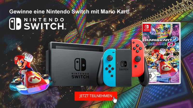 Nintendo Switch Gewinnspiel Switch gewinnen