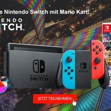 Nintendo Switch Gewinnspiel: Jetzt mitmachen!