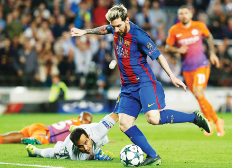 Image result for Messi treated City like playground kids –Enrique