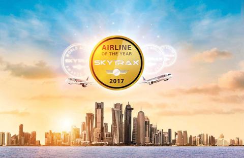 """Qatar Airways celebrates Skytrax """"world's best airline ..."""