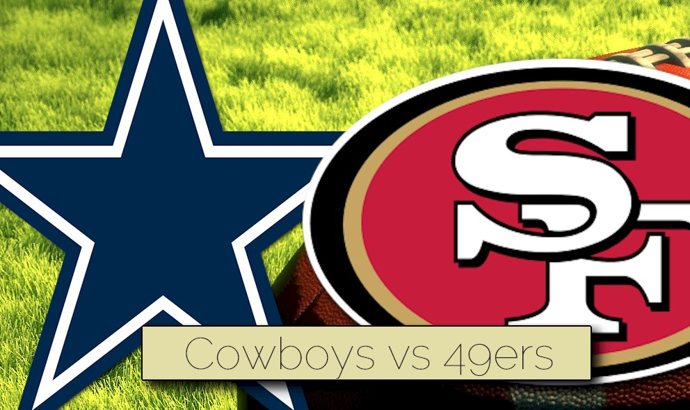Image result for cowboys vs 49ers