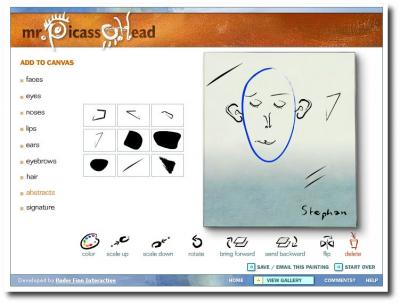 Picassohead in Aktion