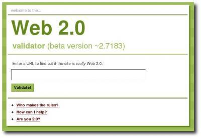 Ist es Web 2.0?
