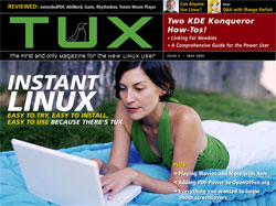 Cover von Tuxmagazine