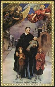 St. Vincent de Paul, Pray for Us