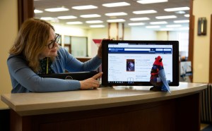 Johnny T. Gnome Finds Articles at the Research Help Desk