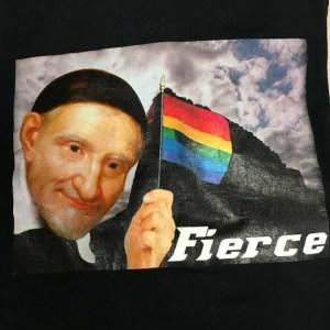 """St. Vincent de Paul """"Fierce"""" t-shirt, box 6."""