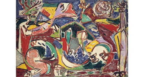 Jackson Pollock, The Key, 1946, Collection of the Art Institute of Chicago