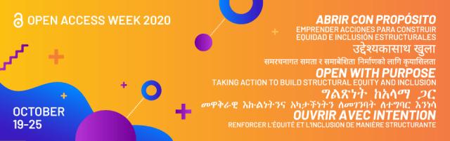 Open Access Week 2020 (October 19-25)
