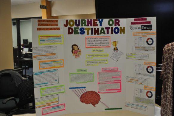 Journey or destination poster