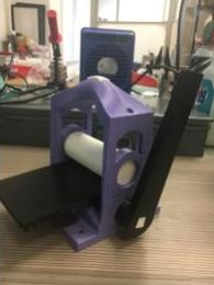 printing press made on 3-D printer