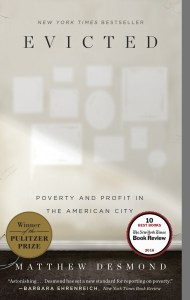"Book cover of ""Evicted: Poverty and Profit in the American City"""