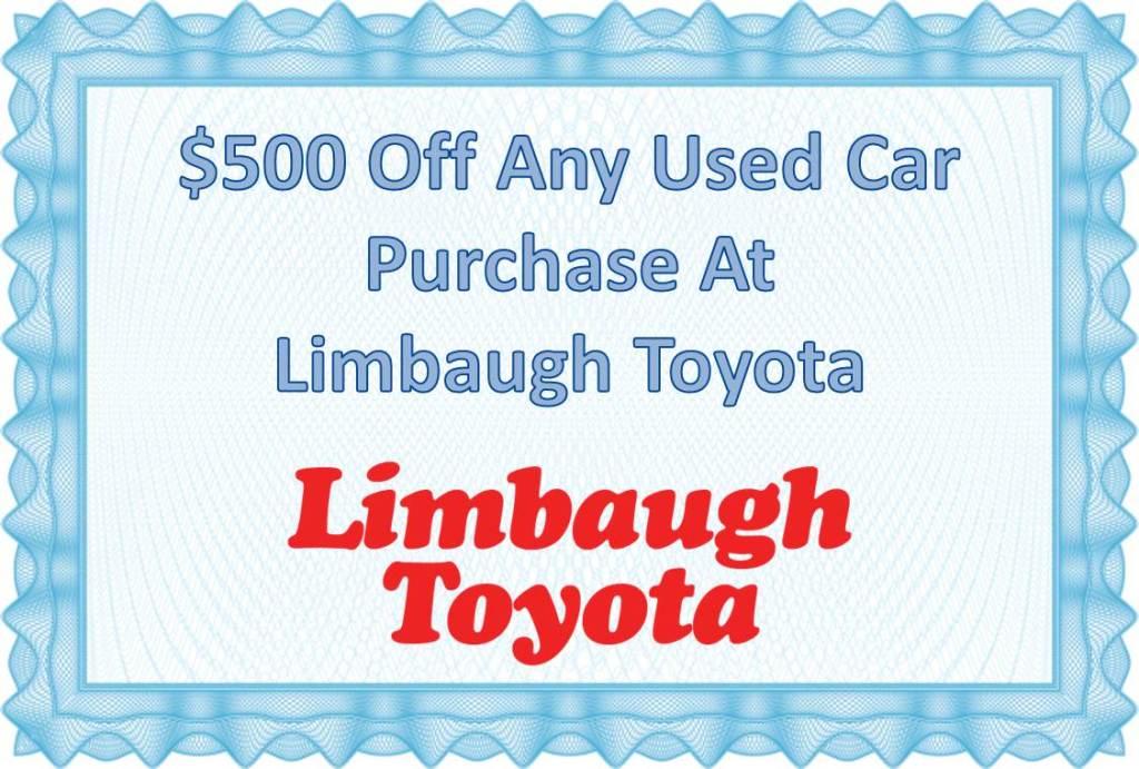 limbaugh toyota coupon
