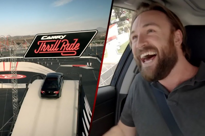 Toyota Camry Rollercoaster