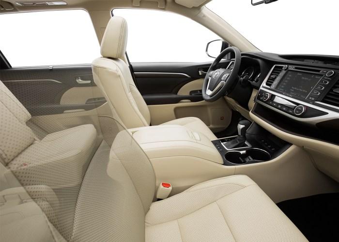 Toyota Highlander Interior Birmingham