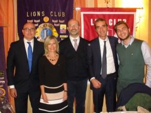 Immagine della serata con la nostra Presidente Alessandra Rosso