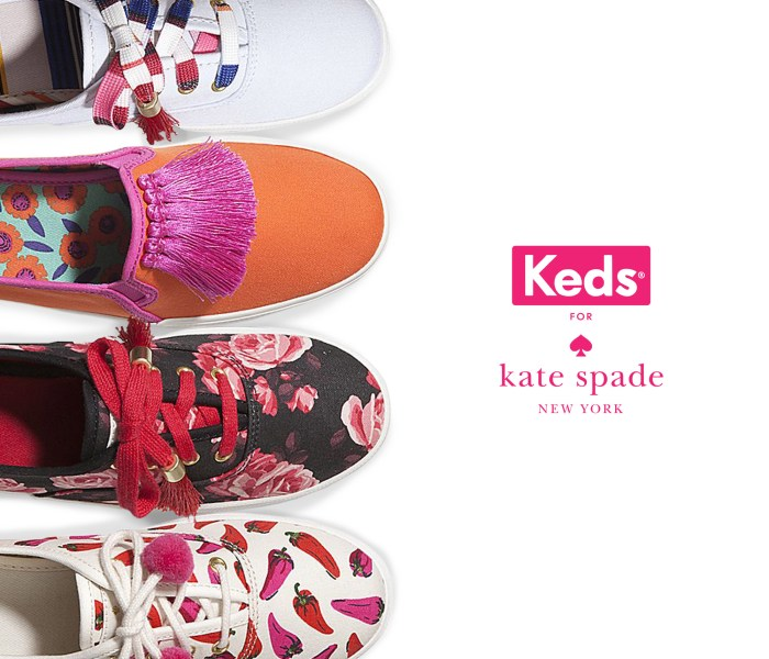 The New Keds x Kate Spade New York Collection is Here!