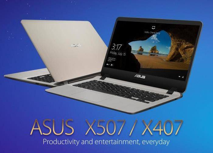 ASUS X407 and X507 – Performance, Portability, and Premium Design at an Unbelievable Price Point