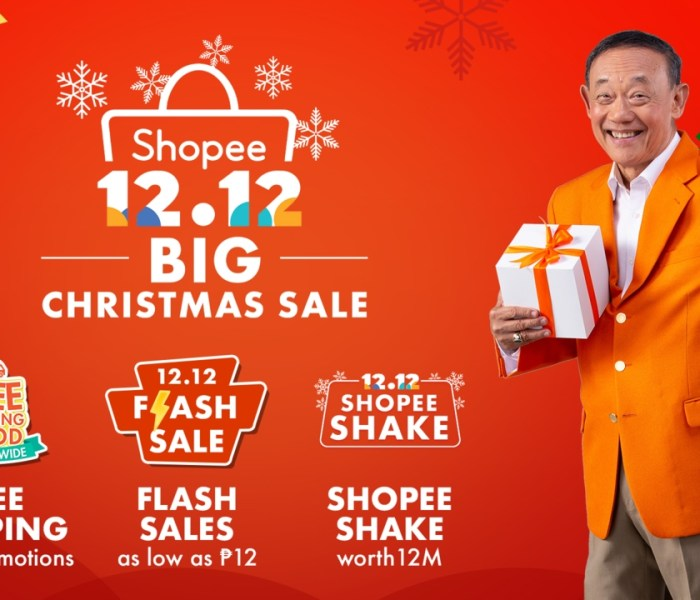 Shopee 12.12 Big Christmas Sale Caravan
