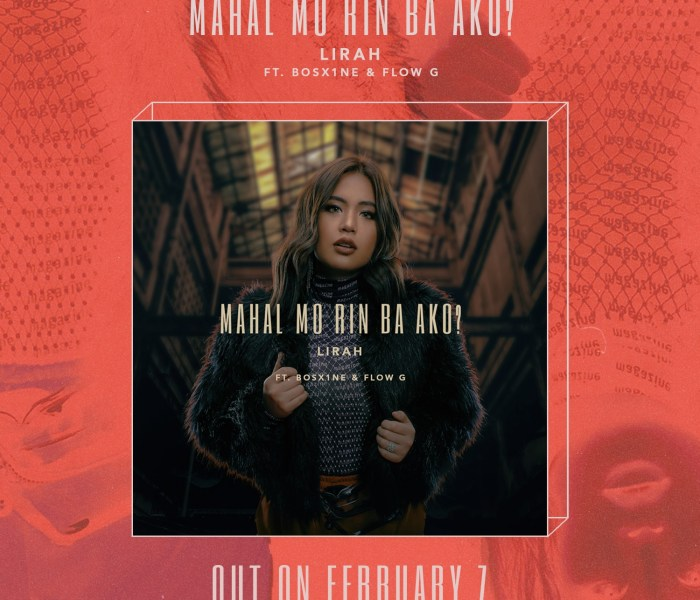 "Lirah and Ex Batallion Surprises with collab track ""Mahal Mo Rin Ba Ako?"""
