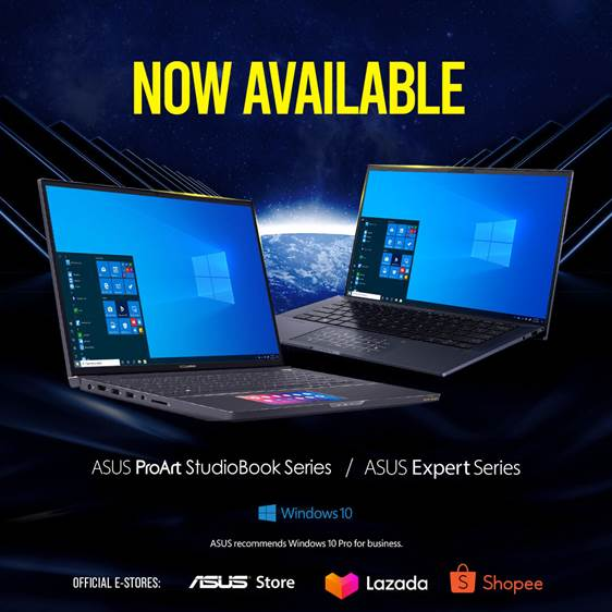 Asus ExpertBook and StudioBook Notebooks Launched Aimed Squarely at Professionals