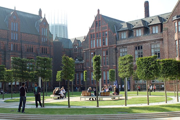 This is one of the best uni campuses in the UK!