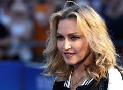 Madonna.at the Special Screening of The Beatles Eight Days A Week: The Touring Years'' at the Odeon Leicester Square, London