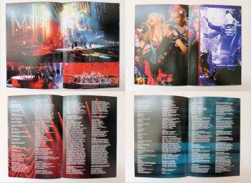 Rebel Heart Tour booklet