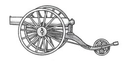 Illustration of cannon